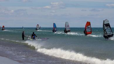 wind report FR, Port-la-Nouvelle - Plage Nord (11) du 2016-05-03 18:00:00