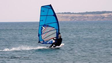 Wind report FR, Leucate - Les Coussoules (11) du 2016-07-11 13:00:00