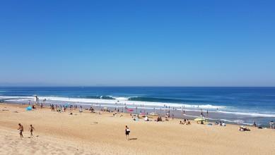 Surf report FR, Hossegor - La Gravière (40) du 2016-07-18 11:00:00