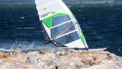 Wind report FR, Le Barcarès - Cap Coudalère  (66) du 2016-07-24 16:00:00