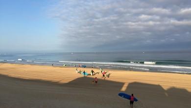 Surf report FR, Hossegor - La Gravière (40) du 2016-07-29 09:00:00