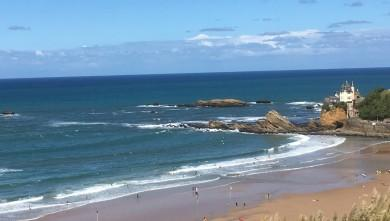 wave report FR, Côte des Basques (64) du 2016-09-18 13:00:00