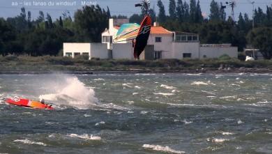 Wind report FR, Le Barcarès - Cap Coudalère  (66) du 2016-09-18 18:00:00