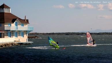 Wind report FR, Le Barcarès - Cap Coudalère  (66) du 2016-09-19 19:00:00