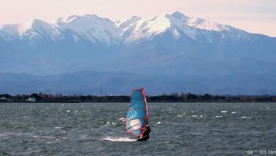 wind report FR, Le Barcarès - Cap Coudalère  (66) du 2016-12-25 17:00:00