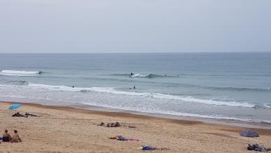 Surf report FR, Hossegor - La Gravière (40) du 2017-07-06 14:00:00