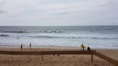 Surf report FR, Hossegor - La Gravière (40) du 2017-07-10 17:00:00