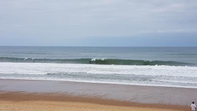 Surf report FR, Hossegor - La Gravière (40) du 2017-07-13 11:00:00
