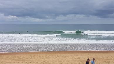 Surf report FR, Hossegor - La Gravière (40) du 2017-07-14 10:00:00