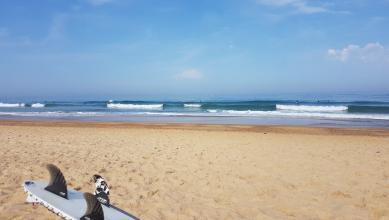 Surf report FR, Hossegor - La Gravière (40) du 2017-07-17 10:00:00
