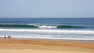 Surf report FR, Hossegor - La Gravière (40) du 2017-07-18 10:00:00