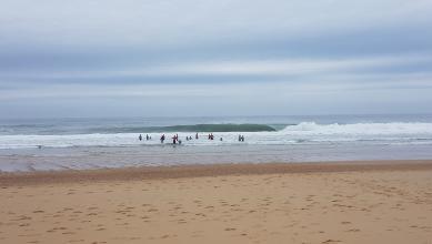 Surf report FR, Hossegor - La Gravière (40) du 2017-07-21 09:00:00