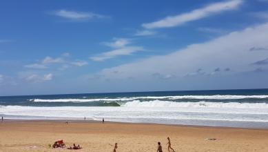 Surf report FR, Hossegor - La Gravière (40) du 2017-07-23 13:00:00