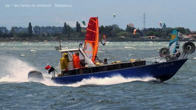 Wind report FR, Le Barcarès - Cap Coudalère  (66) du 2017-07-25 16:00:00
