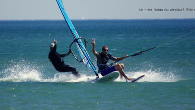 Wind report FR, Leucate - Les Coussoules (11) du 2017-07-27 15:00:00