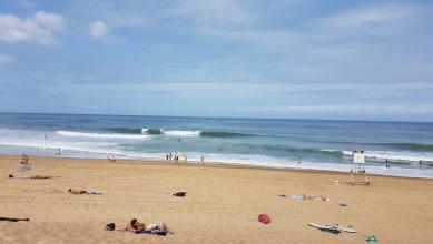 Surf report FR, Hossegor - La Gravière (40) du 2017-07-31 11:00:00