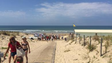 wave report FR, Le Porge (33) du 2017-08-22 14:00:00