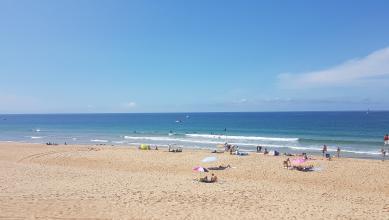 wave report FR, Hossegor - La Gravière (40) du 2017-08-29 13:00:00