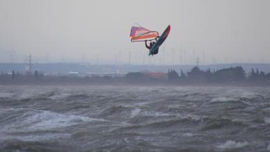 Wind report FR, Le Barcarès - Cap Coudalère  (66) du 2017-12-02 17:00:00