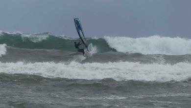 surf report FR, Antibes - Plage Salis (06)