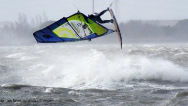 Wind report FR, Le Barcarès - Cap Coudalère  (66) du 2017-12-27 17:00:00