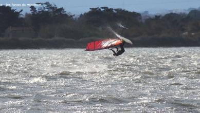 wind report FR, Le Barcarès - Cap Coudalère  (66) du 2018-01-04 16:00:00