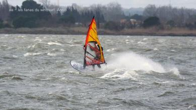 wind report FR, Le Barcarès - Cap Coudalère  (66) du 2018-01-17 16:00:00