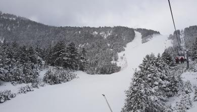 Snow report FR, Les Angles (66)