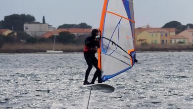 Wind report FR, Le barcarès - Le Téléski (66) du 2018-03-05 16:00:00