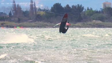 Wind report FR, Le Barcarès - Cap Coudalère  (66) du 2018-03-18 17:00:00