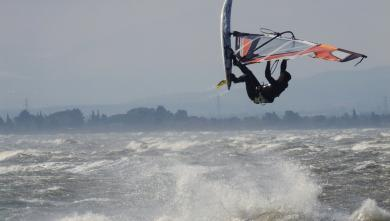 Wind report FR, Le Barcarès - Cap Coudalère  (66) du 2018-03-20 17:00:00