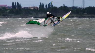 Wind report FR, Le Barcarès - Cap Coudalère  (66) du 2018-05-09 17:00:00