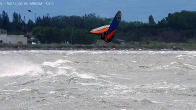 Wind report FR, Le Barcarès - Cap Coudalère  (66) du 2018-05-13 17:00:00