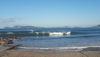 surf report FR, Plage de la Garonne (83)