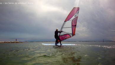 Wind report FR, Le Barcarès - Cap Coudalère  (66) du 2018-06-01 18:00:00