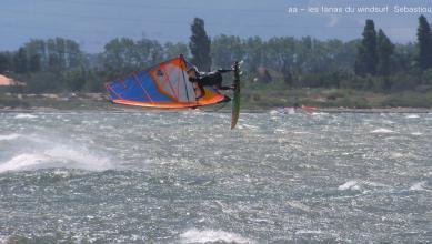 Wind report FR, Le Barcarès - Cap Coudalère  (66) du 2018-06-18 18:00:00