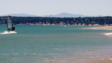 Wind report FR, Leucate - Les Coussoules (11) du 2018-06-19 14:00:00