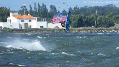 Wind report FR, Le Barcarès - Cap Coudalère  (66) du 2018-07-17 13:00:00