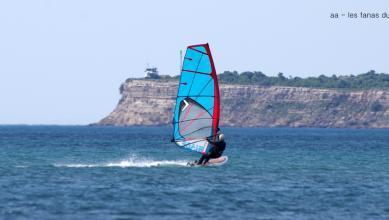 Wind report FR, Leucate - Les Coussoules (11) du 2018-07-20 14:00:00