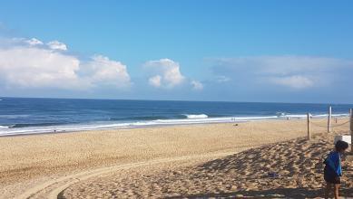 Surf report FR, Hossegor - La Gravière (40) du 2018-07-22 09:00:00