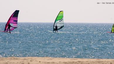 Wind report FR, Leucate - Les Coussoules (11) du 2018-07-25 13:00:00
