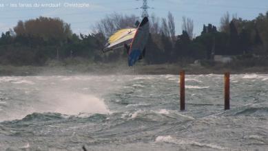 Wind report FR, Le Barcarès - Cap Coudalère  (66) du 2018-11-25 17:00:00