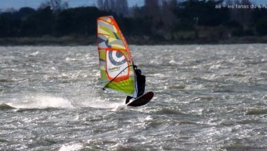 Wind report FR, Le Barcarès - Cap Coudalère  (66) du 2019-01-08 17:00:00