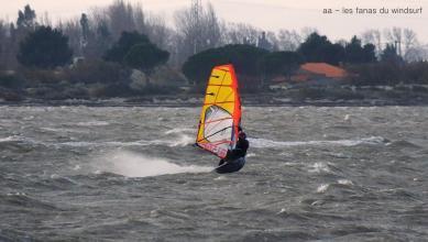 Wind report FR, Le Barcarès - Cap Coudalère  (66) du 2019-01-09 16:00:00