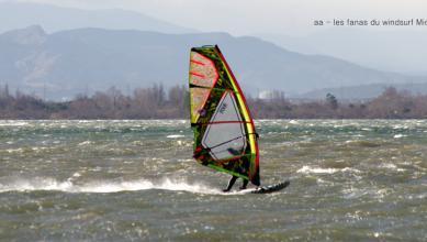 Wind report FR, Le Barcarès - Cap Coudalère  (66) du 2019-01-21 16:00:00