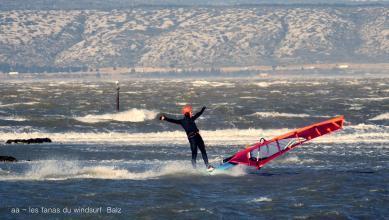 Wind report FR, Le Barcarès - Cap Coudalère  (66) du 2019-01-24 17:00:00