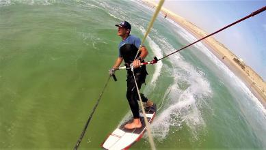 Wind report FR, Biscarrosse Plage (40)