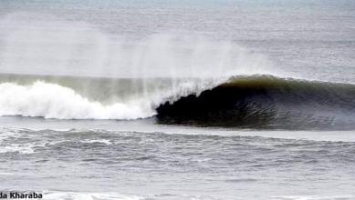 Surf report MA, Azemmour Plage (MA) du 2019-04-09 12:00:00