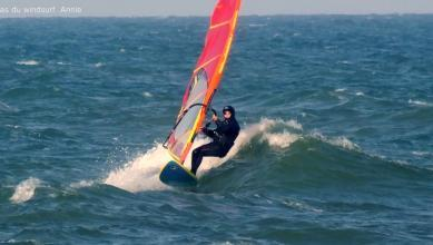 Wind Report FR Saint-Cyprien - La Nord le 2020-02-09 18:00:00