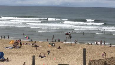live Surf Report FR Le Porge le 2020-08-03 12:00:00